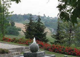 4. giardino sulle colline piemontesi